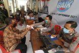 Penyaluran BLT PKL Di Kantor Polisi