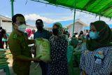 Pemkab Sigi menyalurkan beras lima ton untuk penyintas gempa