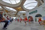 Bandara Internasional Yogyakarta menggelar pentas seni dan pameran wayang