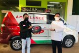 British Propolis mewakafkan ambulans ke RS AKA Medika Sribhawono Dompet Dhuafa