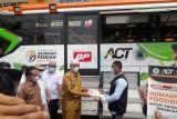 ACT Pasaman Barat sediakan bus makan gratis bagi masyarakat yang vaksin dan donor darah (Video)