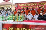 Polisi gagalkan peredaran 23 kilogram sabu-sabu di Medan