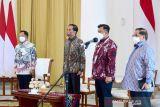 Mendagri mendampingi Presiden Jokowi buka Apkasi Expo 2021