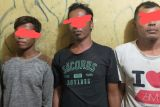 Polisi tahan tiga orang terduga penjarah kapal karam
