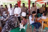 Alumni Akabri Angkatan 99 Jambi vaksinasi 50 siswa Suku Anak Dalam