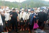 Warga Badui korban kebakaran dapat bantuan revovasi rumah dari Menteri BUMN
