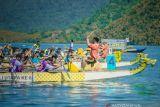 Pemkab Morut  kenalkan destinasi Teluk Tomori lewat lomba perahu naga
