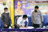 Bupati Pesisir Barat hadiri acara serah terima hibah rumah khusus nelayan dari Kementerian PUPR