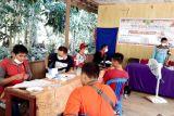 Pemkab Bartim gelar pelayanan tatap muka urusan adminduk di Desa Dambung