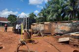 Tim gabungan temukan gudang minyak  oplosan di Kota Jambi