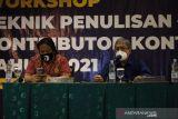 Gandeng ANTARA, Kanwil DJP Riau gelar workshop penulisan