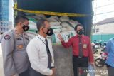 Sebanyak 33 ton pupuk dolomite yang disita Polda Sumsel ternyata berasal dari Padang