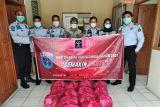Rutan Maninjau salurkan bantuan ke masyarakat terdampak COVID-19