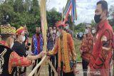 Bangun Huma Betang Termegah di Kalteng, DAD Mura Kaji Banding ke Kalbar