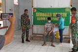 Kodim 1301 Sangihe gelar serbuan vaksinasi di Kelurahan Paniki