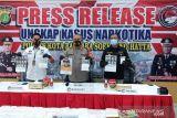 Polresta Bandara Soekarno Hatta gagalkan penyelundupan 3,2 kilogram sabu