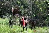 Satgas TNI Yonif 131 patroli cek patok batas negara RI-Papua Nugini MM 2.2