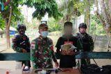 Satgas TNI Yonif 131 gagalkan penyelundupan ganja di perbatasan RI-PNG