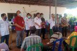 Apindo dan OJK Lampung gelar vaksinasi COVID-19 di PT GGP
