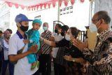 Bantul memberangkatkan lima keluarga calon transmigran ke Sulawesi Barat