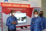 Bupati Mesuji resmikan pojok baca digital