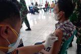 200 narapidana di Lapas Rajabasa disuntik vaksinasi