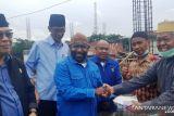 Demokrat Papua bantu pembangunan Masjid Riyadhul Jannah Rp50 juta dan 200 sak semen
