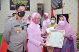 Kapolda Lampung dapat penghargaan terkait penegakan hukum