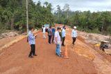 Proyek jalan Tanjungbungsu, Lingga  longsor