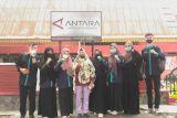 Cari tahu kiat-kiat jurnalistik, 8 mahasiswa UNRI sambangi ANTARA Riau