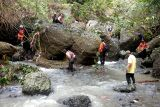 Basarnas cari warga tenggelam di Sungai Sampang Kebumen