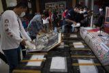 Rilis Penyelundupan Benih Lobster di Palembang
