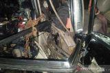 Tabrakan maut mobil mini bus vs truk di jalinsum Jambi, lima orang tewas