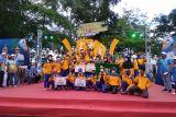 Banten juara umum Pekan Olahraga Tradisional Nasional VIII 2021