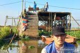 Puluhan rumah warga Ogan Ilir rusak parah diterjang puting beliung, sebagian rata dengan tanah