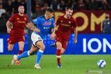 Laga AS Roma versus Napoli berakhir imbang tanpa gol