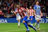 Luis Suarez dewa penyelamat Atletico