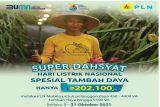 343 pelanggan listrik nikmati program Super Dahsyat PLN