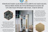 Itera buat filter penyaring air berbahan alami untuk pelaku UMKM tahu