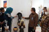 Kanwil Kumham DIY memamerkan seratusan karya kerajinan warga binaan