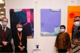 Dua pelukis Indonesia memamerkan karya di Italia