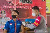 Polres Rejang Lebong gelar vaksinasi massal sasar siswa SMK