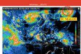 Siklon Tropis Malou penyebab hujan dan petir di Kepri