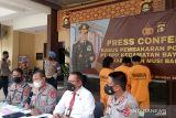 Polisi tetapkan tiga tersangka kasus  pembakaran pos timbangan di Muba