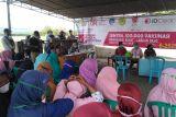 Pemkab Mabar-Nahdlatul Ulama gelar vaksinasi di desa