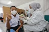 Masyarakat penerima dua dosis vaksin COVID-19 mencapai 68,2 juta orang