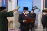 Jokowi saksikan sumpah jabatan Kepala PPATK 2021-2026