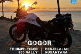 Empat bikers M8 Nusantara keliling Indonesia  rekam keindahan budaya