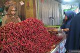 Harga cabai di Pasar Pariaman naik Rp10 ribu/kilogram