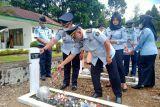 Peringati HDKD 2021, Rutan Lubuk Sikaping dan Lapas Talu gelar tabur bunga di Makam Pahlawan